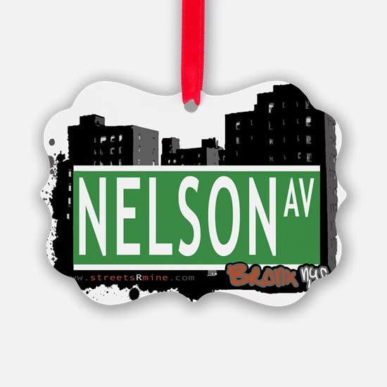 Nelson Ave Ornament