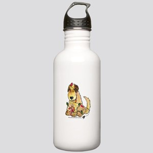 Doodle Holiday Lights Stainless Water Bottle 1.0L