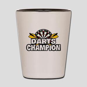 Darts Champion Shot Glass