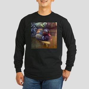 duck 2 Long Sleeve Dark T-Shirt