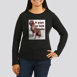 pathetic redbone coonhound Long Sleeve T-Shirt