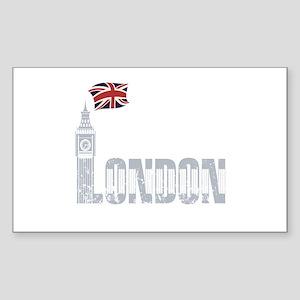 London Sticker (Rectangle)