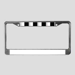 chess board License Plate Frame