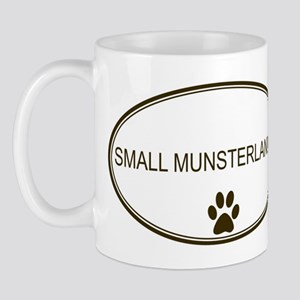 Oval Small Munsterlander Mug