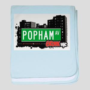 Popham Ave baby blanket