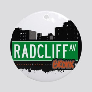 Radcliff Ave Ornament (Round)