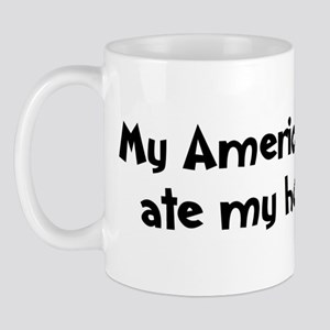 American Brittany ate my home Mug