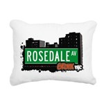 Rosedale Ave Rectangular Canvas Pillow