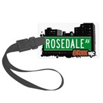 Rosedale Ave Large Luggage Tag