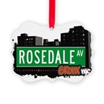 Rosedale Ave Picture Ornament
