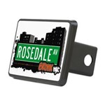 Rosedale Ave Rectangular Hitch Cover