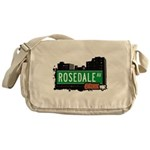 Rosedale Ave Messenger Bag