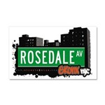Rosedale Ave Car Magnet 20 x 12