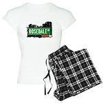 Rosedale Ave Women's Light Pajamas