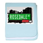 Rosedale Ave baby blanket