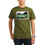 Rosedale Ave Organic Men's T-Shirt (dark)