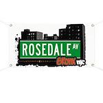 Rosedale Ave Banner
