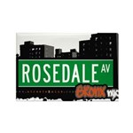 Rosedale Ave Rectangle Magnet (100 pack)