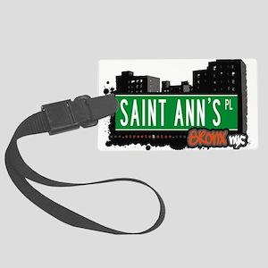 Saint Anns Pl Large Luggage Tag