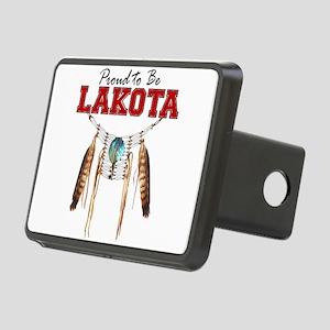 Proud to be Lakota Rectangular Hitch Cover