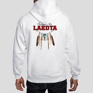 Proud to be Lakota Hooded Sweatshirt