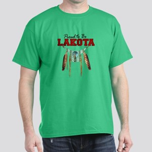 Proud to be Lakota Dark T-Shirt