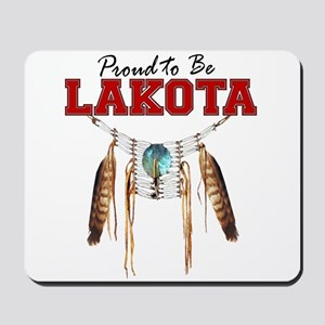 Proud to be Lakota Mousepad