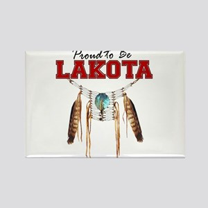 Proud to be Lakota Rectangle Magnet
