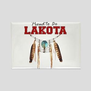 Proud to be Lakota Rectangle Magnet