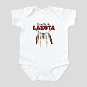 Proud to be Lakota Infant Bodysuit