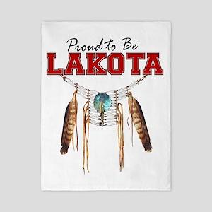Proud to be Lakota Twin Duvet