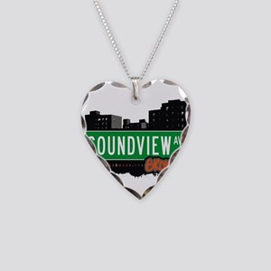 Soundview Ave Necklace Heart Charm