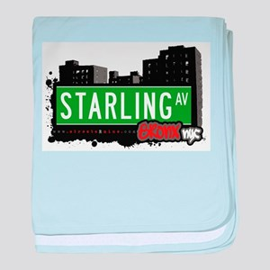 Starling Ave baby blanket