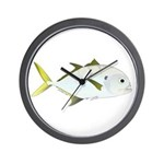 Crevalle Jack f Wall Clock