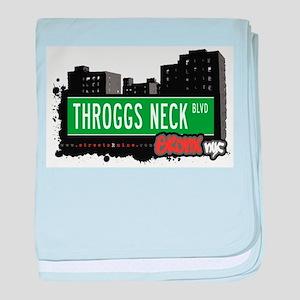 Throggs Neck Blvd baby blanket