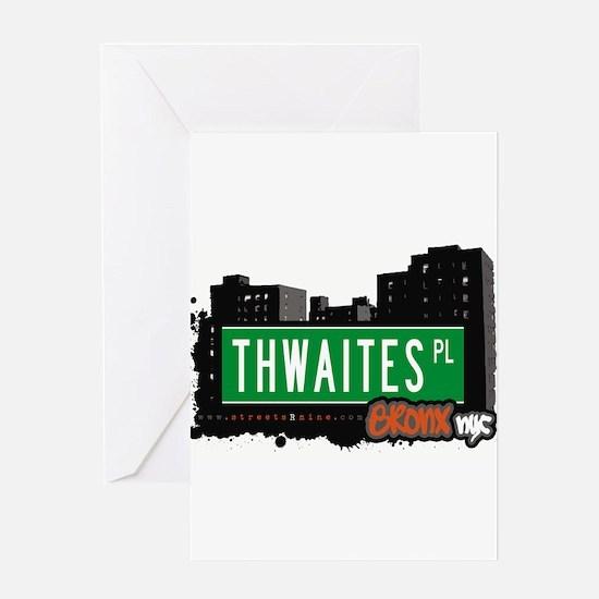 Thwaites Pl Greeting Card