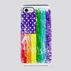 Pride American Flag iPhone 7 Tough Case
