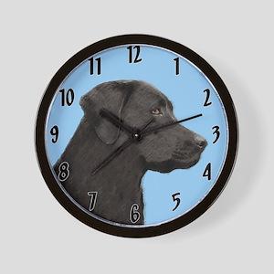 Labrador Retriever (Black) Wall Clock
