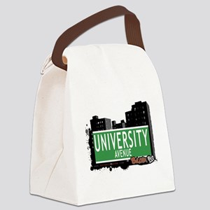 University Ave Canvas Lunch Bag