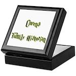 Owens Family Historian Keepsake Box