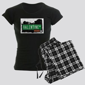 Valentine Ave Women's Dark Pajamas