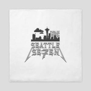 Seattle Seven Queen Duvet