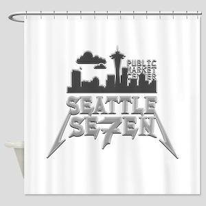 Seattle Seven Shower Curtain