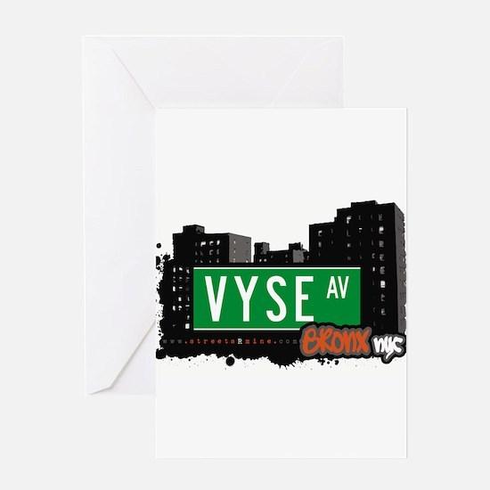 Vyse Ave Greeting Card