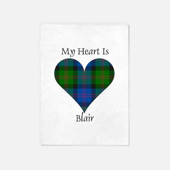 Heart - Blair 5'x7'Area Rug
