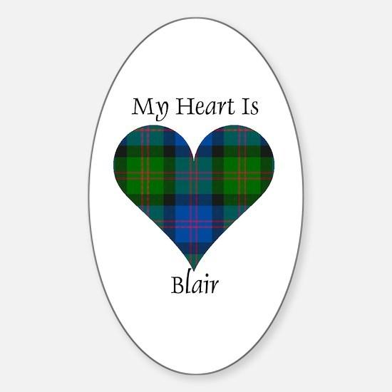 Heart - Blair Sticker (Oval)
