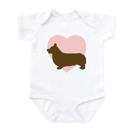 Corgi Heart Infant Bodysuit