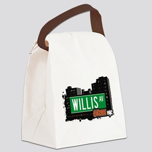 Willis Ave Canvas Lunch Bag