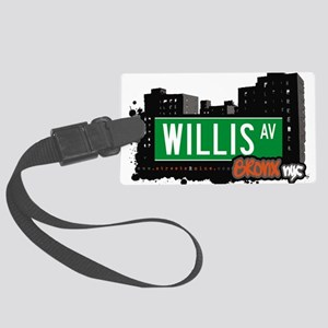 Willis Ave Large Luggage Tag