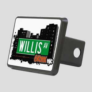 Willis Ave Rectangular Hitch Cover